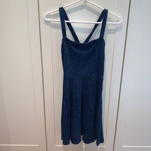 Fun blue summer dress